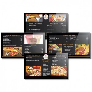 creative design digital signage