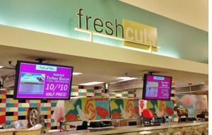 grocery store digital signage market