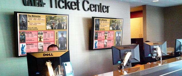 theater digital signage